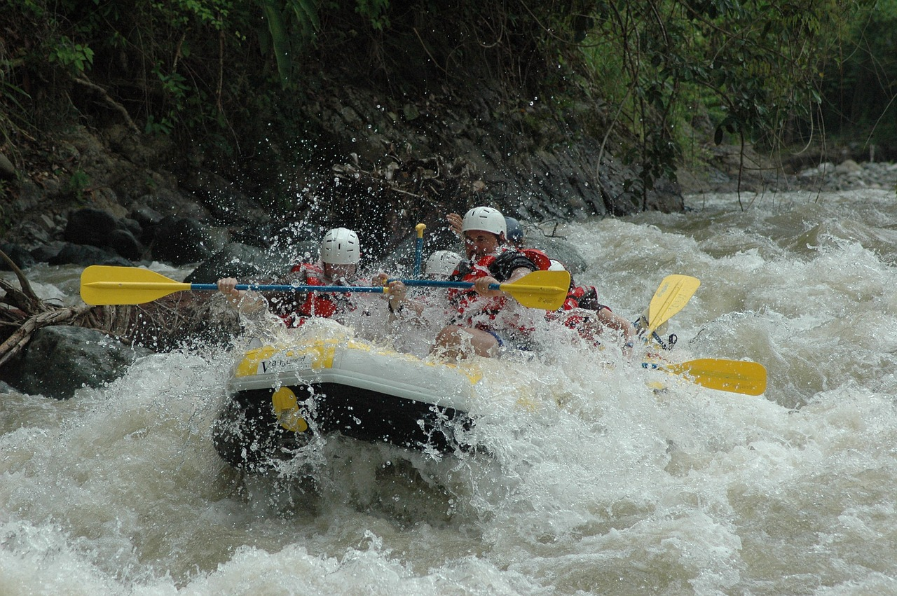 Rafting – czy jest przyjazny dla początkujących?